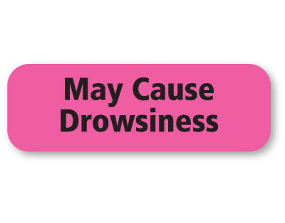 May Cause Drowsiness