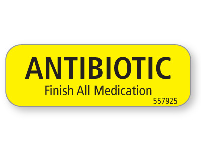 ANTIBIOTIC...
