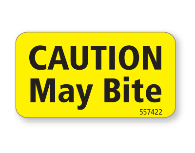Caution May Bite