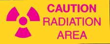CAUTION RADIATION...