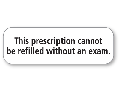 This prescription...