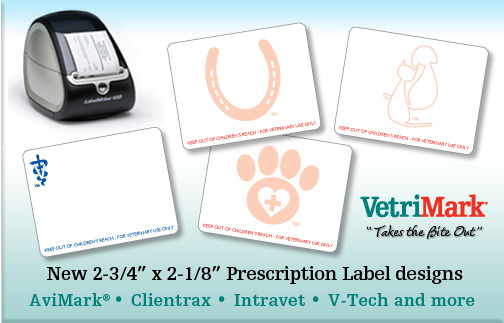 Veterinary hospital prescription labels and supplies | VetriMark